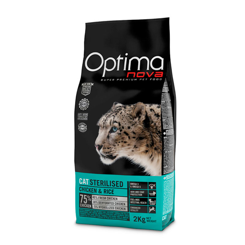 Optima Nova Cat Sterilised 2kg Image