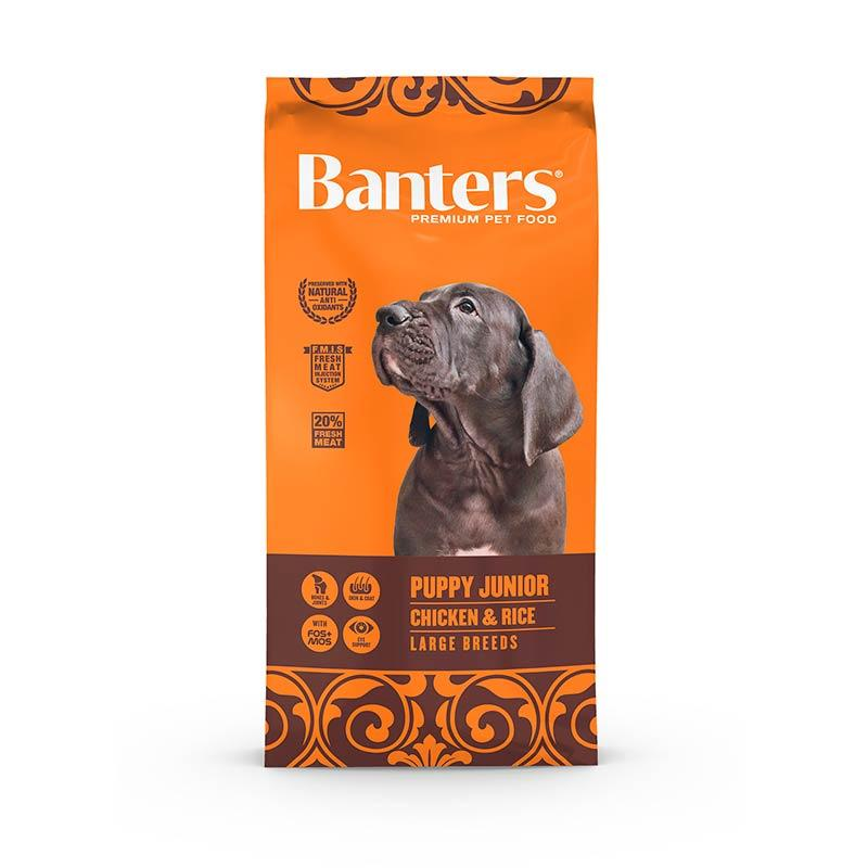 Banters Puppy Large Breed 15kg Image