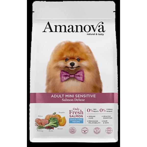 AMANOVA Grain Free adult mini Salmón 2kg Image